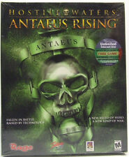 HOSTILE WATERS ANTAEUS RISING 2001 PC GAME NEW IN ORIGINAL LARGE RETAIL BOX