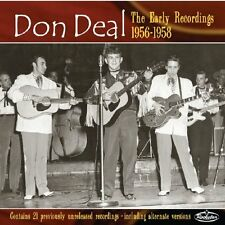 DON DEAL The Early Recordings CD - NEW - rare 1950s rockabilly Eddie Cochran