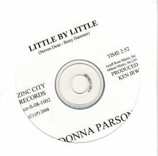 (EL69) Donna Parsons, Little By Little - 2008 DJ CD