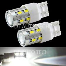 2X 7443 460 Lumen White Backup Reverse High power Cree+5630 Chip LED Light Bulbs