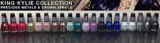 SET OF 21 ~ SINFUL COLORS KING KYLIE COLLECTION METALS & JEWELS NAIL POLISH NEW!