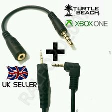 *NEW* XBOX ONE® CHAT KIT 4 TURTLE BEACH HEADSETS - CABLE & ADAPTER