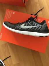 BNIB Mens Nike Free 4.0 Flyknit Running Trainers Uk Size 9 Black