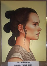 MONDO REY 12X16 GICLEE LIMITED EDITION (MIKE MITCHELL) STAR WARS (OOP)