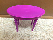 2008 Barbie 3-Story Dream House Townhouse Kitchen Dining Room Table Furniture