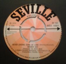 "Smokey 007, Never Ending Song Of Love, 7"" single, 45rpm,"