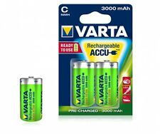 8 x VARTA Baby C Power Akku Ready 2 Use 56714 Accu 3000 mAh NiMH 4008496550739