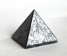 REIKI ENERGY CHARGED HEMATITE PYRAMID CRYSTAL NATURAL POSITIVE CRYSTAL HEALING