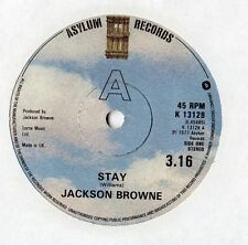 "Jackson Browne - Stay 7"" Single 1977"