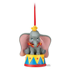 Disney Store Christmas DUMBO ELEPHANT BIG EARS CIRCUS Holiday Ornament 2012 NEW