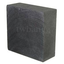 99.9% High Purity Graphite Ingot Block 50mm x 50mm x 20mm For Smooth Surface US