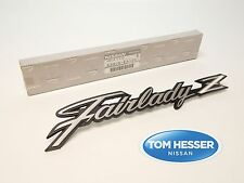 JDM Datsun S30 240Z Fairlady Z Front Fender Emblem Badge Genuine OEM Nissan New