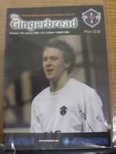 15/01/2005 Grantham Town v Kings Lynn  . Item appears to be in good condition un