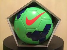 SOCCER BALL-NIKE PITCH-SIZE 3-REPLICA BALL-GREEN / BLUE IN COLOR-NEW-IN BOX-