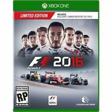 Xbox One 1 F1 2016 Formula 1 LIMITED EDITION New Sealed Region Free USA racing