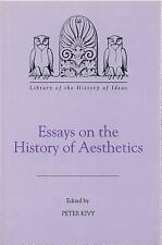 Essays on the History of Aesthetics (Library of the History of Ideas), , Good Bo