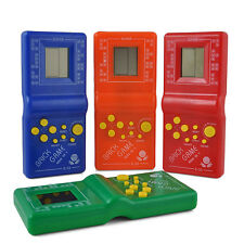 80s 90s Nostalgic  Tetris Brick Game Console LCD Electronic Handheld Game Toys