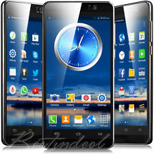 "5"" Android Mobile Phone Touch Screen WiFi 3G Dual Sim Free Smartphone NEWEST"