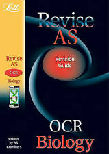 OCR Biology: Study Guide (Letts AS Success), New, Parker, John Book