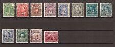 NEWFOUNDLAND 1911/16 SG117/27 & 123a Fine Mint Cat £345