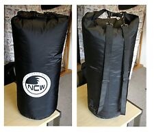 85 L lightweight waterproof dry bag. Rucksack straps.Good for quick submersions