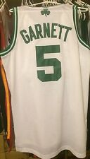Kevin Garnett Boston Celtics White Home Men L NBA Jersey Hwc Adidas Pierce #5