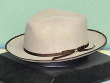 STETSON SPECIAL EDITION STRATOLINER SOFT FUR FELT FEDORA HAT