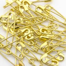28mm Gold Safety Pins 50pc; 70301003