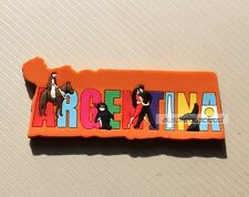 TOURIST SOUVENIR Rubber TRAVEL FRIDGE MAGNET --- Argentina