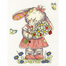 DMC Somebunny To Love Cross Stitch Kit  Flower Girl