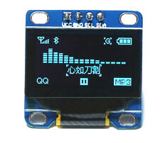 "1PCS Blue 0.96"" SPI SSD1306 128X64 OLED LCD Display Module Arduino/STM32/AVR/51"