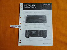 SERVICE MANUAL Kenwood KA 990EX english Service Anleitung