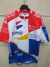VINTAGE Maillot cycliste BANESTO Tour France 94 INDURAIN camiseta Nalini 7 XXXL