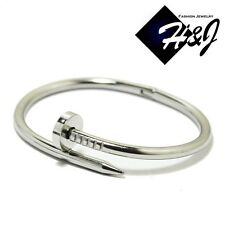 NEW Women's Stainless Steel Silver Bangle/Handcuff