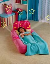 DREAM GLIMMERS COMFORT AIR BED KID'S CHILD CAMPING SLEEPOVER MATTRESS.