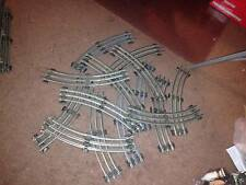 VINTAGE O SCALE LIONEL TRAIN TRACKS - X14 CURVED TRACKS