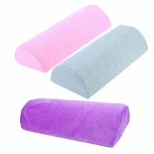 PURPLE  LINT & SPONGE HAND CUSHION/ PILLOW- NAIL ART /EXTENSIONS  ACRYLIC