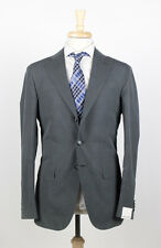 NWT. CARUSO Gray Silk 3/2 Button Suit 50/40 R RL Purple Label Maker