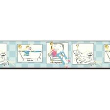 Time to Relax for the Girls Spa / Bath Wallpaper Border KG8789B