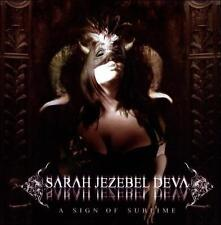 Sign of Sublime Sarah Jezebel Deva  CD Cradle of Filth Angtoria
