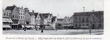 BEAUVAIS PLACE DE L HOTEL DE VILLE IMAGE 1924 OLD PRINT