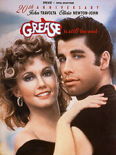 Grease 20th Anniversary Song Book Music Book Piano PVG