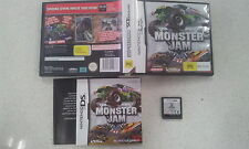 Monster Jam Nintendo DS Lite DSi 3DS Complete Version Australian Stock
