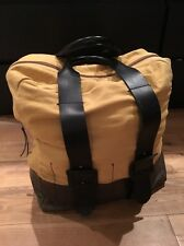 Yigal Azrouel Leather Canvas Large Weekend Bag
