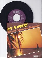 """Die Flippers, Die rote Sonne von Barbados, VG+/VG+ 7"""" Single 0904-8"""