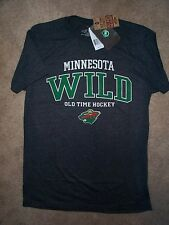 ($26) Minnesota Wild nhl Hockey Jersey Tee T-Shirt ADULT MEN'S (m-medium)