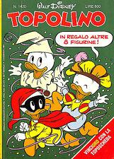 [508] TOPOLINO ed. Mondadori 1983 con figurine n.  1420 stato Ottimo