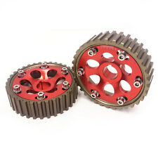 Anodized Cam Gear Honda B-Series B16/B18 DOHC Engine Civic/Integra/Del Sol Red