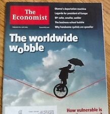 The Economist~THE WORLDWIDE WOBBLE How Vulnerable is recovery February 8-14 2014