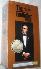 The Godfather Part II VHS 1997 2-Tape Set, Closed Captioned Free Shipping U.S.A.